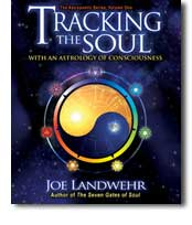 Tracking the Soul by Joe Landwehr; book cover designed by Anne Marie Forrester
