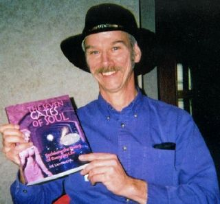 Joe Landwehr celebrates the launch of his first book through his own publishing house Ancient Tower Press.