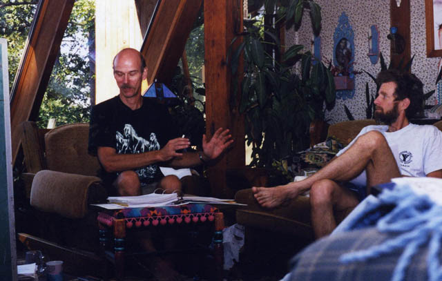 Joe shares astropoetic insights with Jack Hebrank.