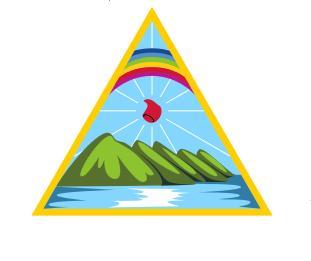 Detail of Nicaraguan flag