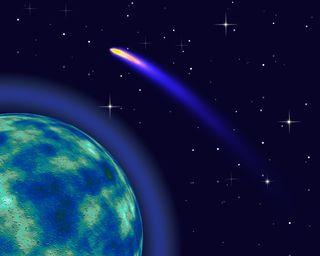 Tracking the soul with astropoetics. COMET. © Geraktv | Dreamstime.com