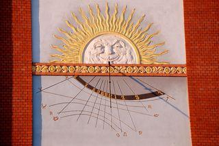 Non-astrologers and skeptics.  Image: SUN CLOCK © Michal Mrozek   Dreamstime.com